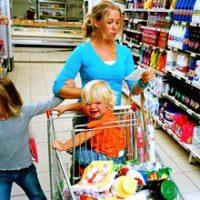 Stop copiilor la Hypermarket